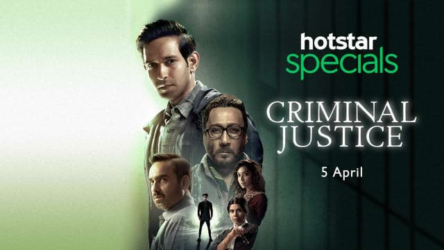 Fans are loving Pankaj Tripathi, Vikrant Massey and Jackie Shroff's performance in Criminal Justice