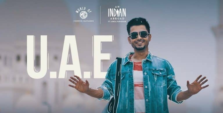 After China, Amol Parashar travels to Dubai in 'An Indian Abroad'