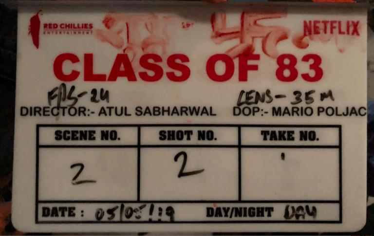 SRK's Netflix production venture 'Class of 83' begins filming