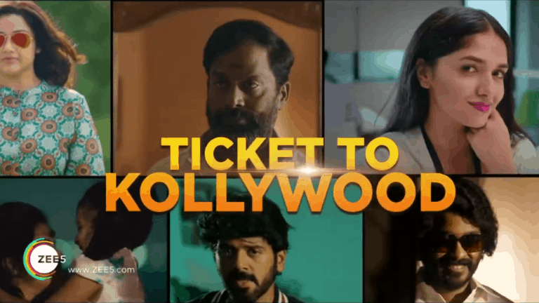 ZEE5 releases Ticket to Kollywood promo