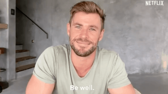 Extraction S Chris Hemsworth Sends Message For India After Cancelled Tour