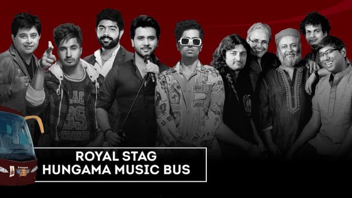 Hungama Music Bus