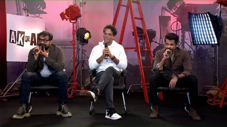 Anil Kapoor and Anurag Kashyap continue 'banter' at AK vs. AK trailer launch