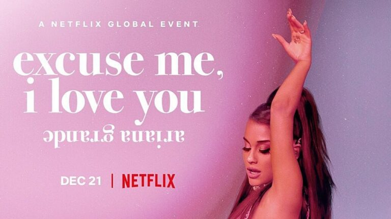 Ariana Grande's concert film Excuse Me, I Love You to premiere on Netflix