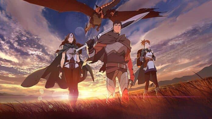 Dota: Dragon's Blood Netflix