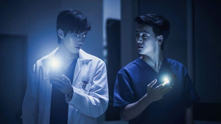 Two friends obsess over spirits in Netflix's 'Ghost Lab'
