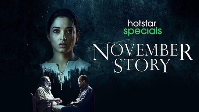 Tamannaah Bhatia leads Disney+ Hotstar's 'November Story'