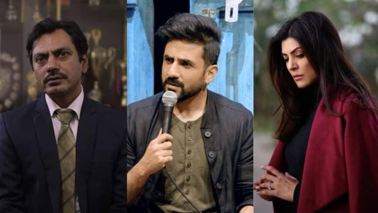 Nawazuddin Siddiqui, Vir Das and Aarya earn International Emmy nominations